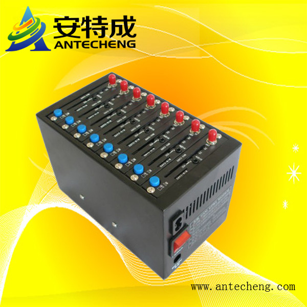 Antecheng Low cost 8 ports Bulk SMS Modem for sms marketing and mobile recharge(China (Mainland))