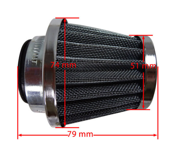 Performance 38mm Air Filter For Chinese font b GY6 b font 50cc ATV Moped Scooter
