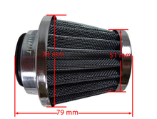 Performance 38mm Air Filter For Chinese GY6 50cc ATV Moped Scooter