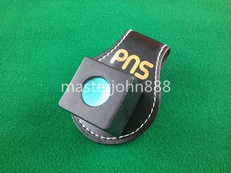 Pool Billiards Snooker Leather Magnetic Belt Clip ...