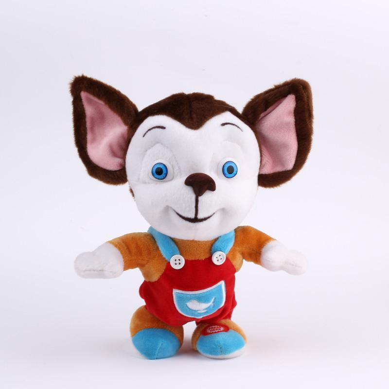 Russia Cartoon Battery Operated Barboskiny Soft Stuffed & Plush Doll Electric Pet Walking Sounding Interactive Toy(China (Mainland))