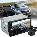 7012B 7 Inch 2 Din Car Audio Stereo MP5 Player Rear Camera Bluetooth TFT Screen 12V
