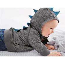 Boys Dinosaur Hoodies Children Hoodies Sweatshirt Boys Girls Spring Autumn Coat Kids Long Sleeve Casual Outwear Baby Clothing(China (Mainland))