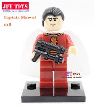 1Star Wars Super heros Marvel DC Minifigures Captain Shazam Deadpool Batman figures building blocks gift DIY legoe toys - JFK Co.,Ltd Store store