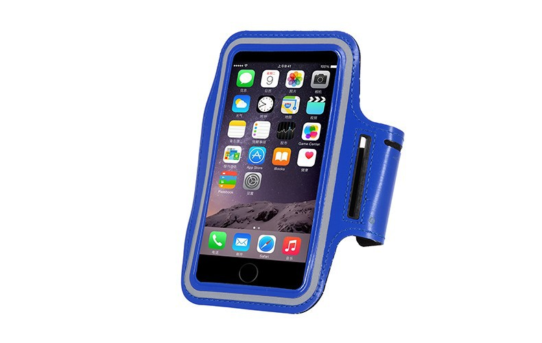 Waterproof Sports Running Armband Leather Case For Apple iPhone 6 Plus/6S Plus 5.5 inch Phone Arm Bag Band GYM Fashion Holder