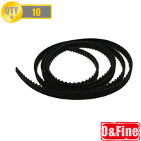 Hot selling high quality 10M GT2-6mm Open GT2 Belt  for 3D printer freeing shipping