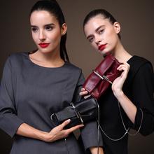 ZOOLER Новое прибытие неподдельной кожи crossbody сумки люксовый бренд Женщина Сумки Посыльного застежка красное вино сумки для женщины # ZF--1910-T(China (Mainland))