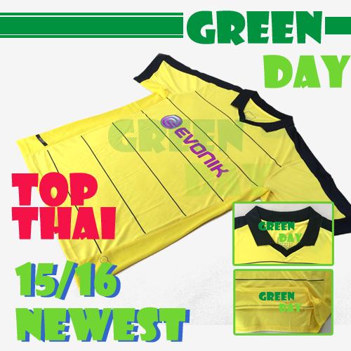 BVB Jersey 2015 2016 Home Dortmund Football Jersey 15 16 Football Gundogan Reus Gotze Muller Shirt Camiseta New Font Letter(China (Mainland))