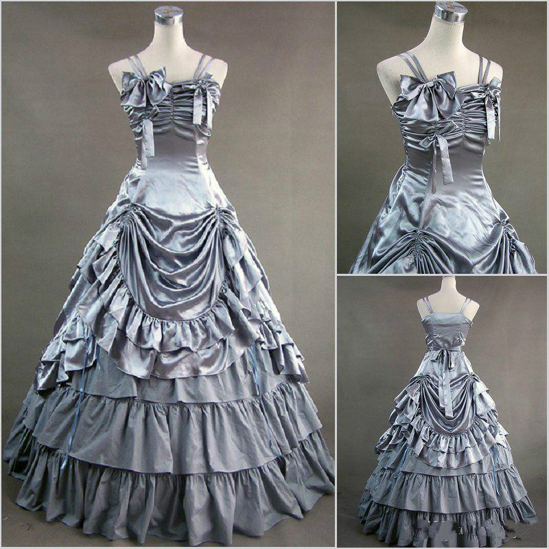 Popular Gothic Victorian Corset Prom Dresses-Buy Cheap Gothic ...