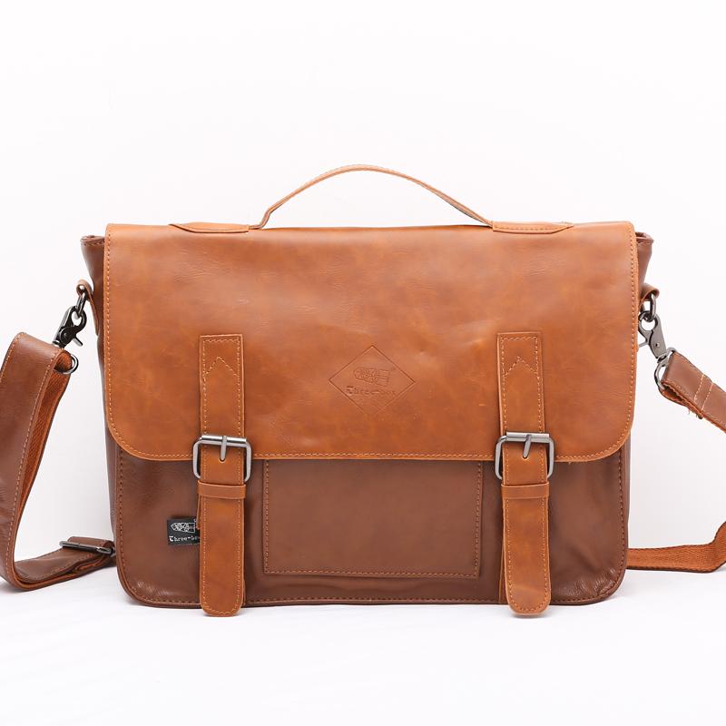 Сумка через плечо Men's bags High/End packagelarge men's leather shoulder bag