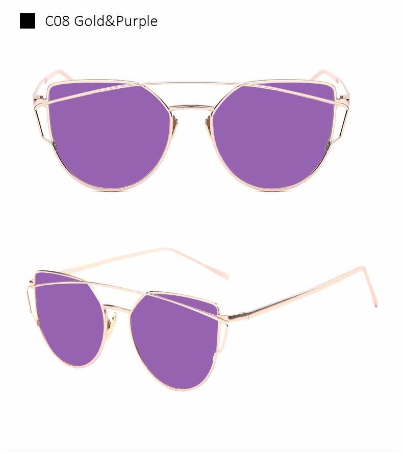 Женские солнцезащитные очки Aimade 2016 Twin Cateye UV400
