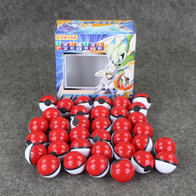 Great 36pcs/lot Pokeball go plus 36pcs Poke Ball Set + 36Pcs pokeball figure + 108pcs Poke Ball Card Sticker pvc figure toy(China (Mainland))