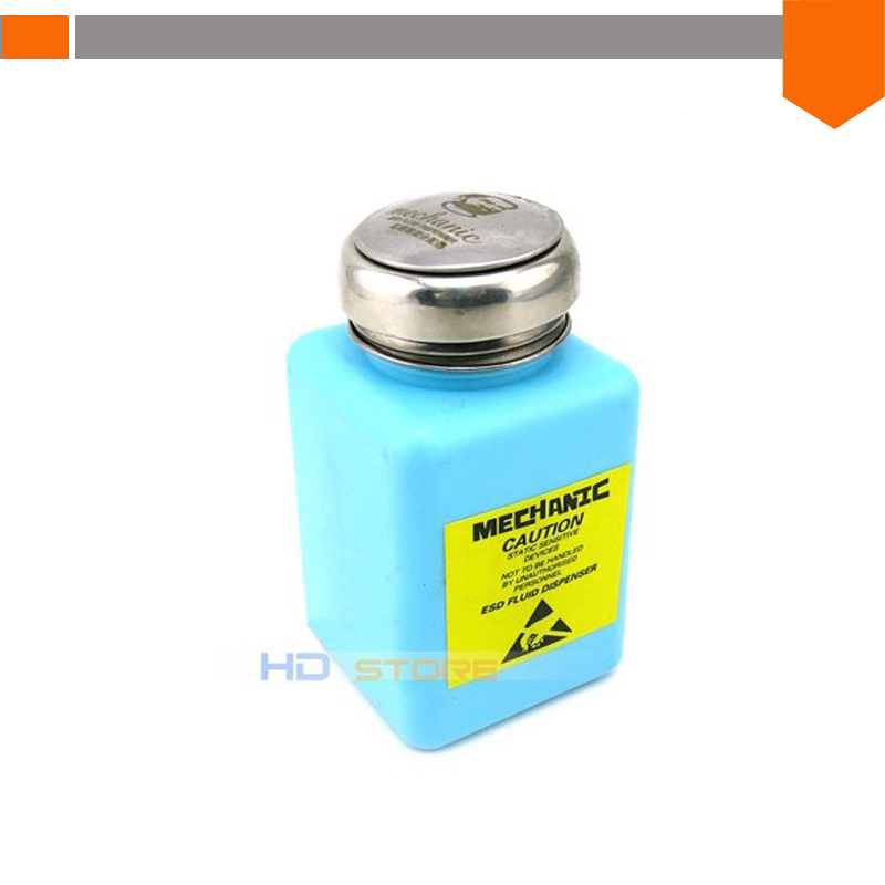 Original Mechanic Alcohol pot 200ml prevent evaporation Alcohol bottle Rosin bottle cellphone glass clean liquid free shipping(China (Mainland))