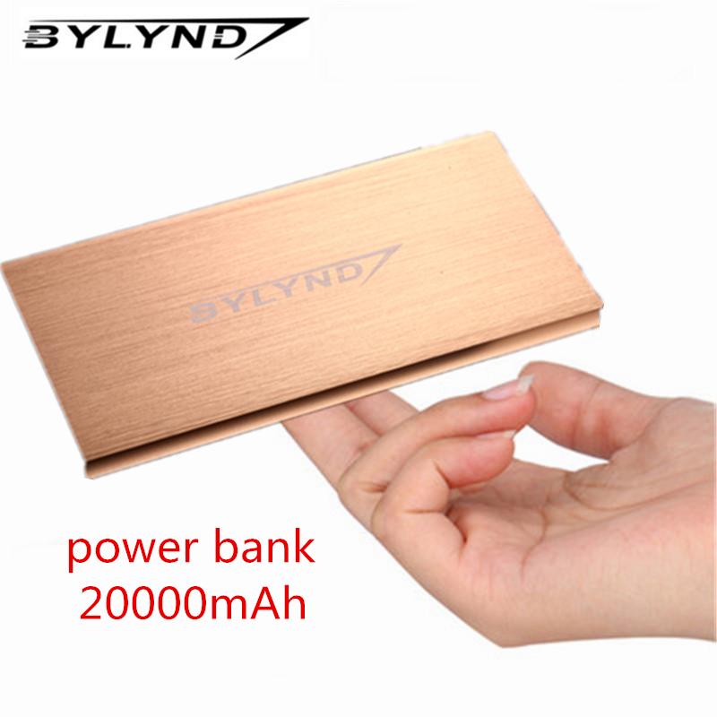 Power Bank 20000mAh Dual USB Portable external battery pack Charger emergency battery charger Powerbank Backup power(China (Mainland))