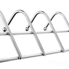 HonestSale Stainless Steel Bathroom Kitchen Wall Hook Rack Clothes Hanger(China (Mainland))