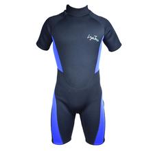 Sports Free Diving Wetsuit 3mm Neoprene Short Pants Plus-size Sleeves 2016 New Layatone B1619(China (Mainland))