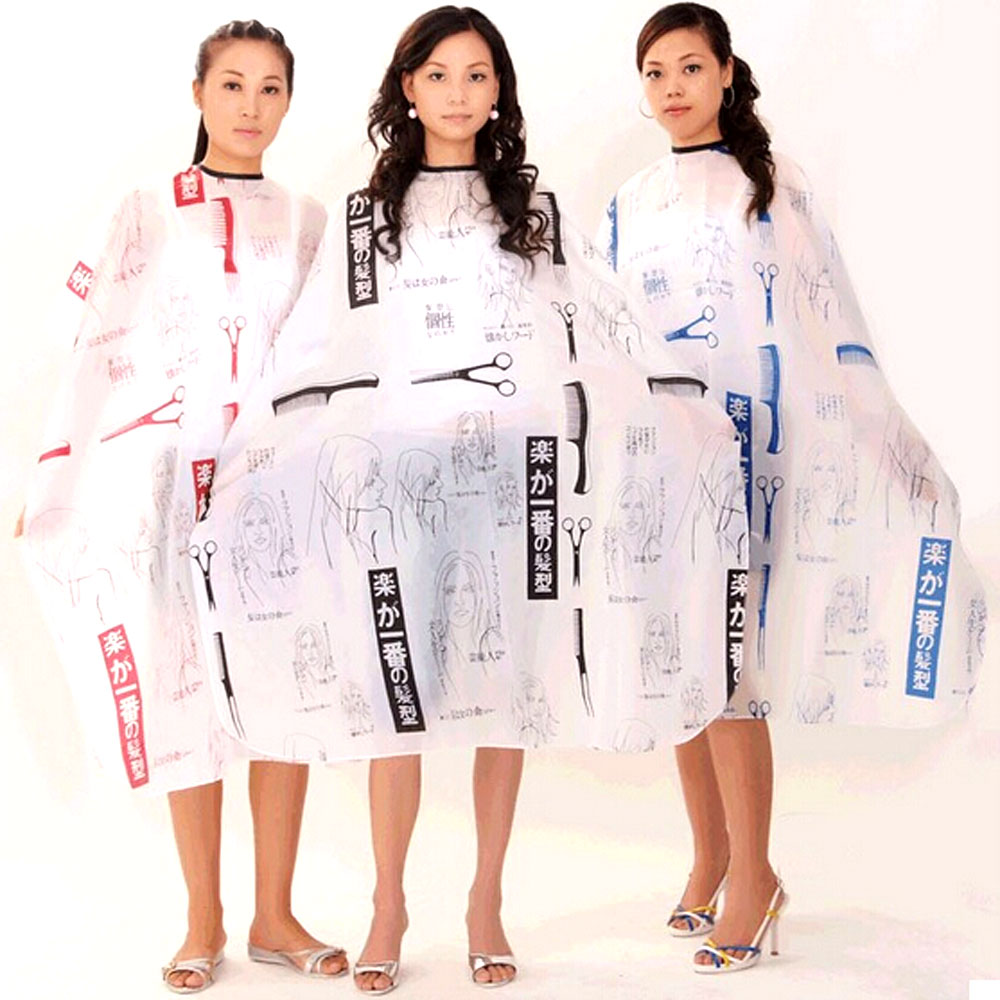 Personality  Hairdressing Hair Cutting Salon Hairstylist Nylon Gown Cape Cloth Hairdresser Hair Cutting Cape Barber Capes