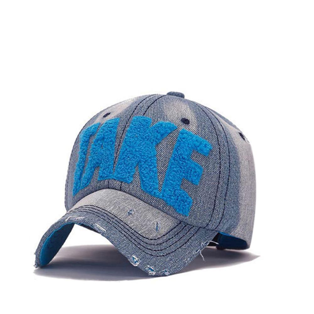 Hats for Men Women Denim Blue Caps Unisex Sun Hat Adult Baseball Cap Take Towel Embroidery Hat Sun Cap Hip Hop Casquette(China (Mainland))