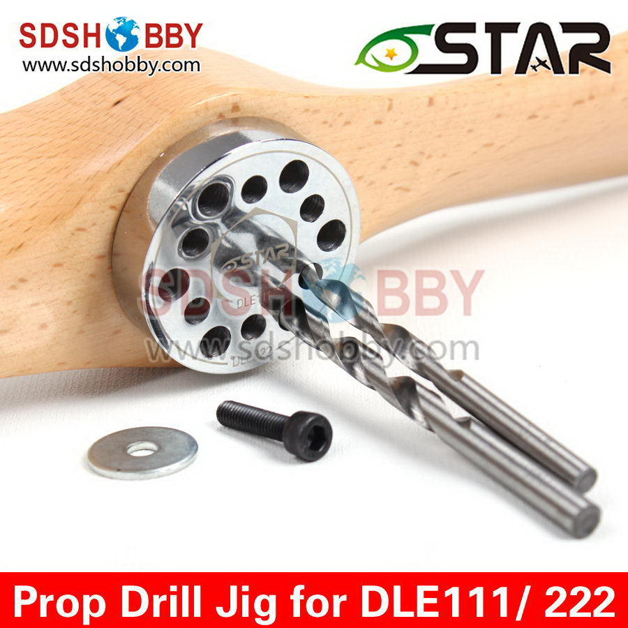 6Star Propeller Drill Jig/ Drill Guide with Screw for DLE85 DLE111 DLE120 DLE222 DLA112 DLA116 DA85 EME120 Gas Engines<br><br>Aliexpress
