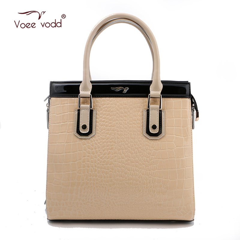 Hot PU Leather Tote Bag Handbags VOEEVODD European and American Style Flap Brand Bag 65207<br><br>Aliexpress