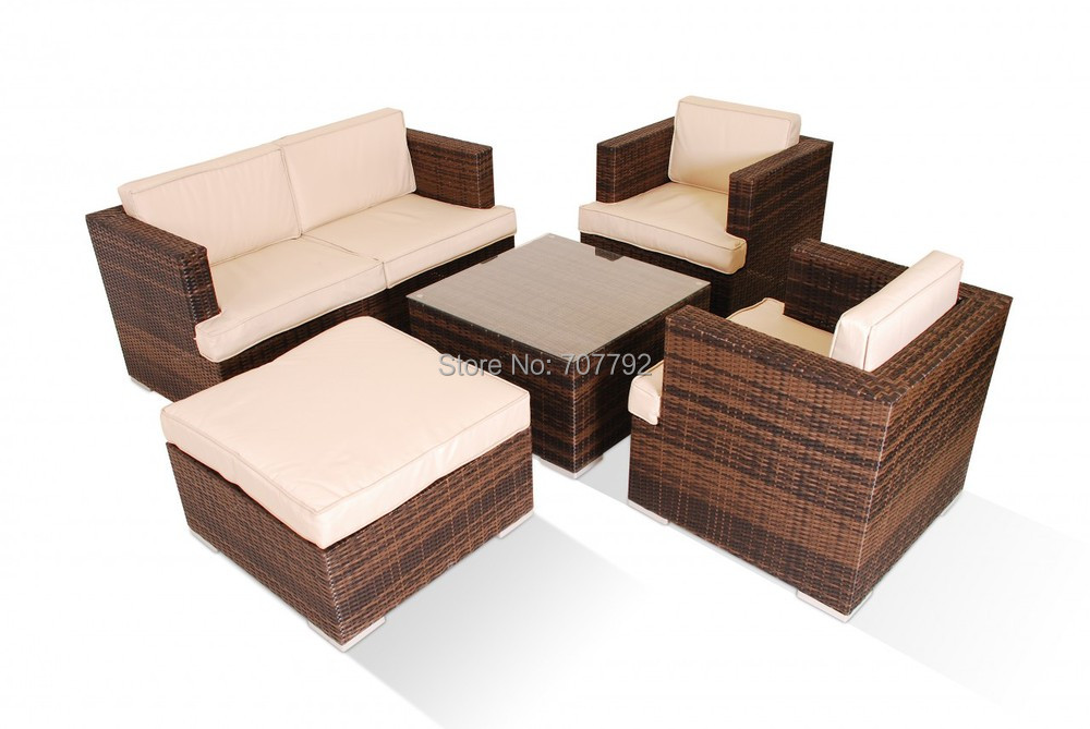 buy mazenetti 5 pc 2 seater rattan sofa set from reliable sofa suppliers on. Black Bedroom Furniture Sets. Home Design Ideas