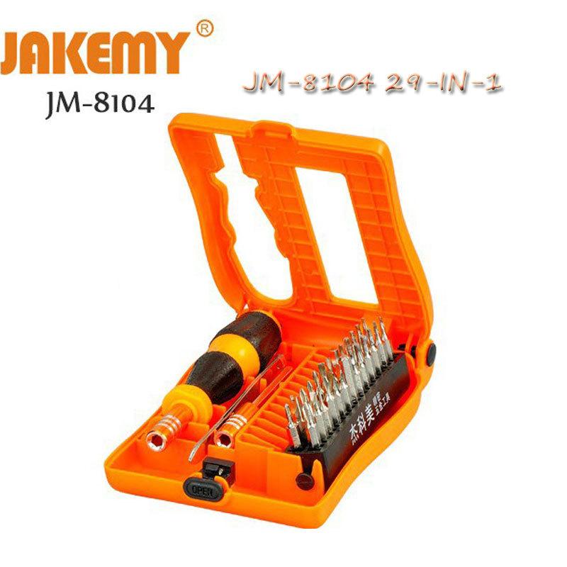 JM8104 29-IN-1 precision csrewdriver set computer tools kit opening home hand tool repair phone computer hardware Plastic kits(China (Mainland))