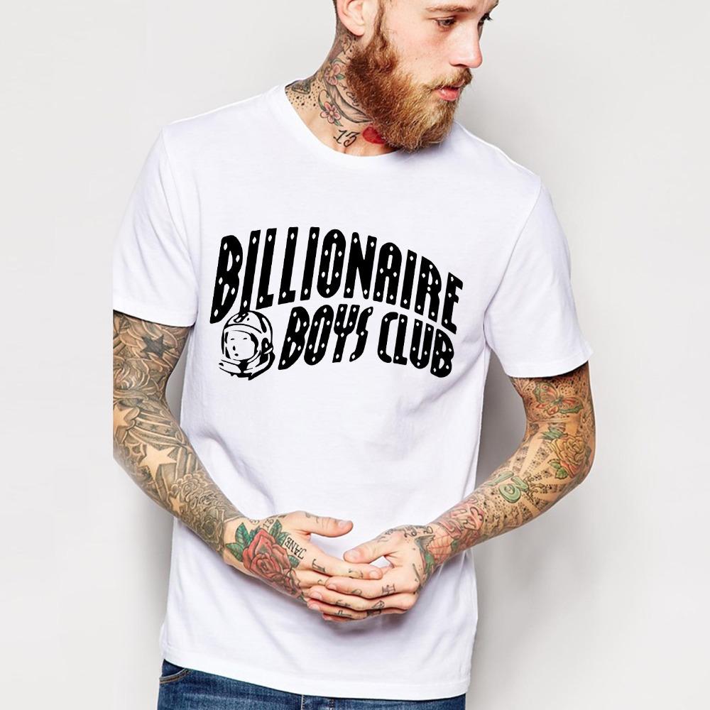 Free Shipping BILLIONAIRE BOYS CLUB T-Shirt BBC T Shirts Men Hip Hop Cotton tshirt O Neck billionaire Man Tops Shirt Euro Size(China (Mainland))
