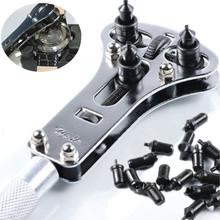 Reparación de relojes de herramientas tornillo a prueba de agua caja ajustable volver llave del abrelatas del removedor