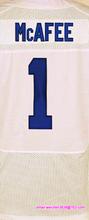 Men's #1 Pat McAfee #12 Andrew Luck #13 Hilton #23 Frank Gore #93 Erik Walden elite jerseys, Blue White(China (Mainland))