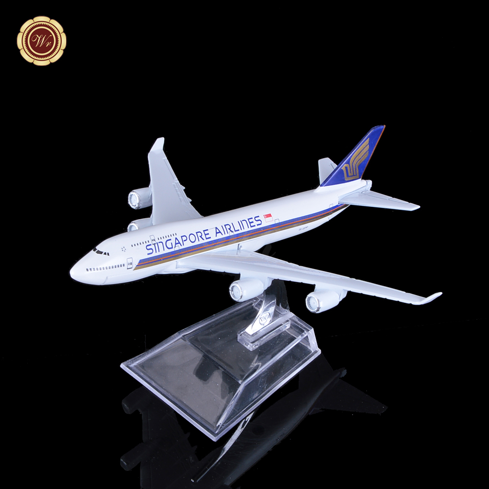 1:400 Plane Model A380 Singapore Airlines Aircraft 9V-SPP A380 Metal Simulation Airplane Model for Kid Toys Christmas Gift(China (Mainland))
