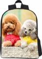 2016 Cool Bad Dog Print Small Kids School shool bags Child Animal Zoo Bagpack Boys Kindergarten