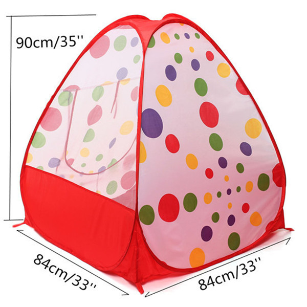 Portable Children Kids Play Tents Folding Indoor Outdoor Garden Toy Tent Castle Pop Up House Multi-function Gift(China (Mainland))
