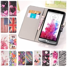 Buy LG G2 G3 G4 mini STYLUS G5 D680 D690 K10 K8 L40 L50 LEON V10 phone case Paint flower butterfly pu leather flip wallet cover for $2.37 in AliExpress store