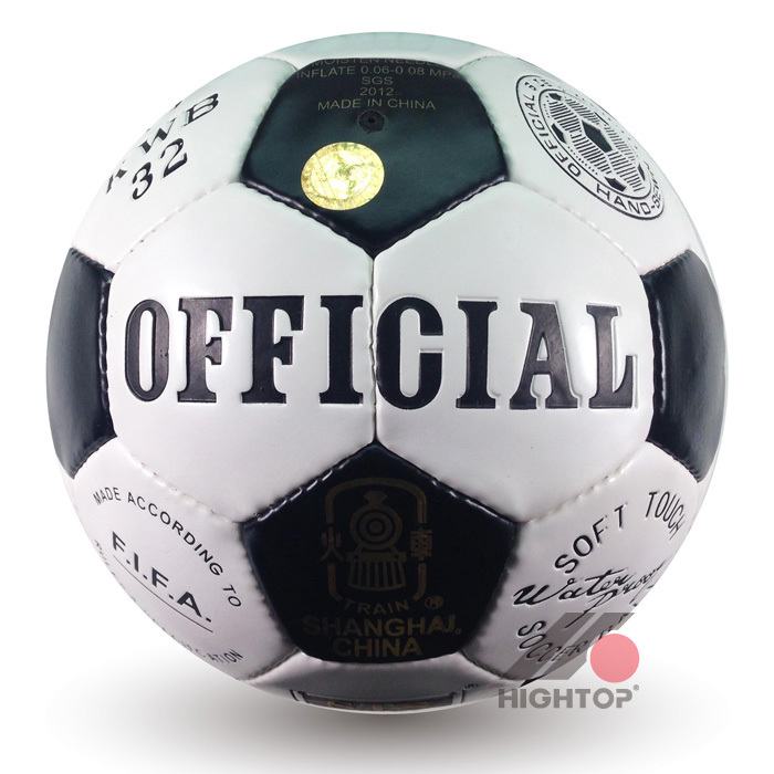 Official Size 5 PU Material Classical Commemorate Version bolas de futebol Soccer Ball Football Ball For Train Match(China (Mainland))