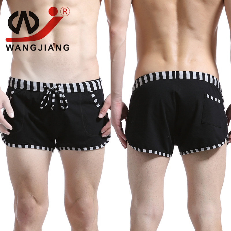 Home Shorts Mens Underwear Boxers Homme Cueca Gay Cotton Boxer Addicted Calzoncillos Sexy Slip Homme Calvn Gay Boxer Spandex(China (Mainland))