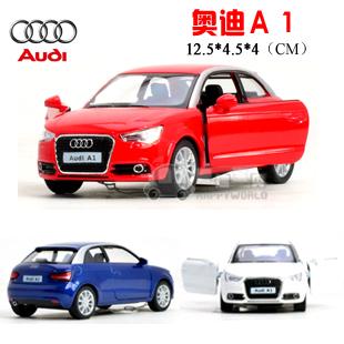 soft world AUDI a1 alloy car model WARRIOR cars