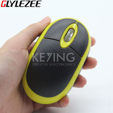 2.4G Wireless Optical Mouse Fashion Ultra-thin Mouse with USB Receiver for Laptop Notebook PC Desktop Computer Free Shipping