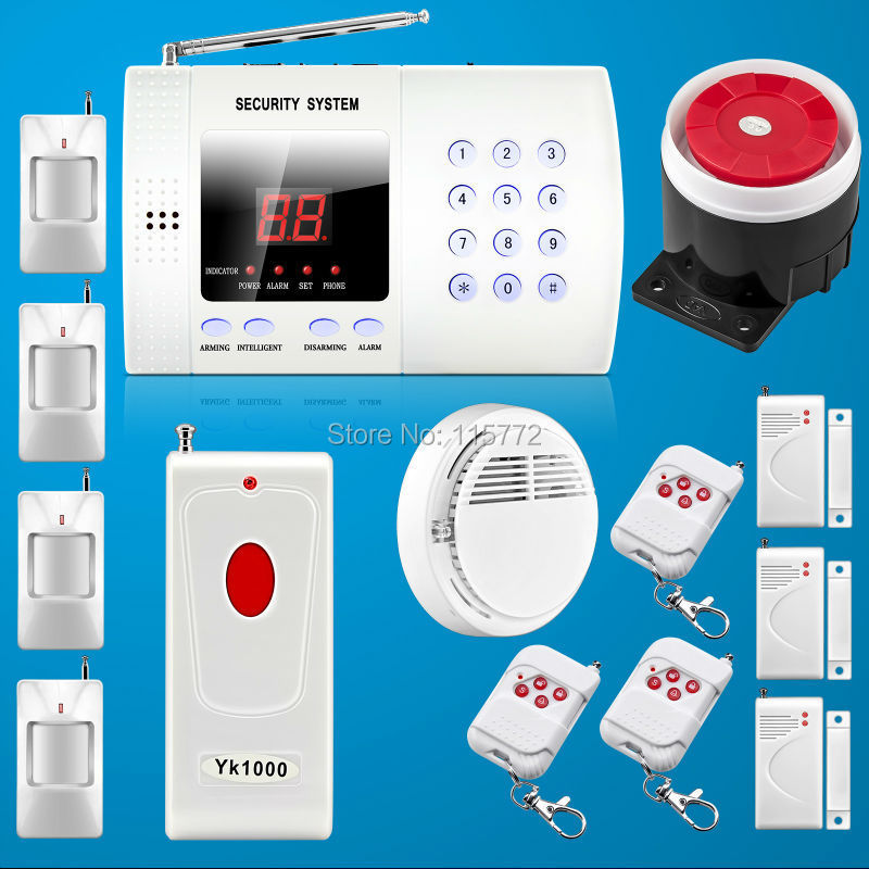 Фотография Hot sale wireless 99 zone home security landline auto dial alarm systems