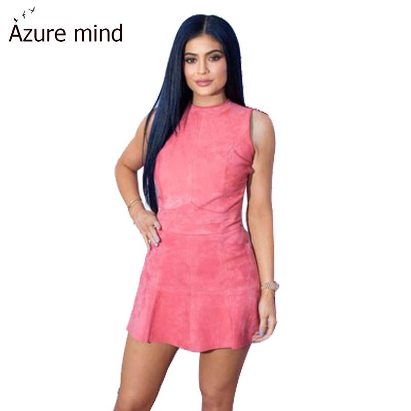 Elegant women short dress 2016 high quality tank sleeveless a line pleated dresses vestidos de festa plus size women clothing(China (Mainland))