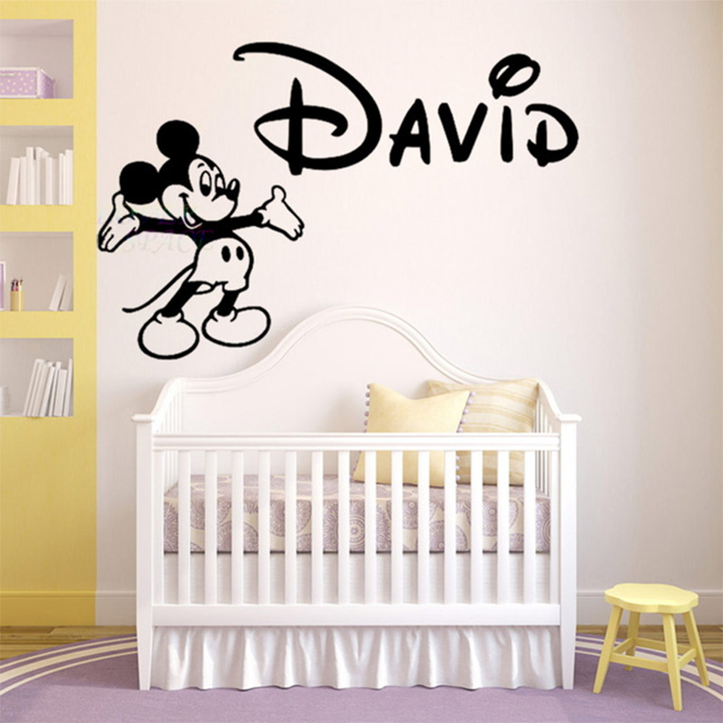 promo o de mickey mouse adesivo de parede disconto. Black Bedroom Furniture Sets. Home Design Ideas