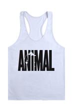 Animal Gym Fitness Tank Top Men Stringer Golds Bodybuilding Muscle Shirt Workout Vest Cotton Sport Undershirt Plus Size Clothes