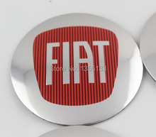 56.5mm FIAT Logo Wheel Hub Caps Center Cover Emblem Badge Sticker FIAT 500 Bravo Grande Punto Ducato(China (Mainland))