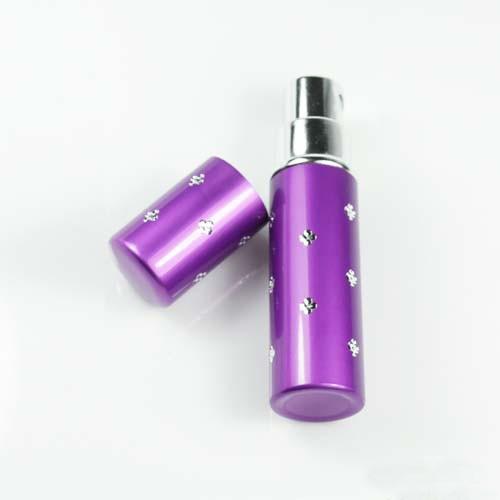 7 Colors Amazing Travel Atomizer Refillable Spray Empty Perfume Bottle TQ(China (Mainland))