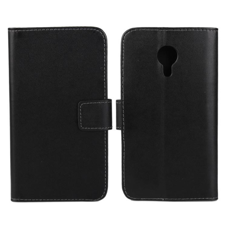 New Business wallet bag Weave seal TOP Stand 100 PU leather case cover For Meizu MX4 MX 4 phone cover card holder(China (Mainland))