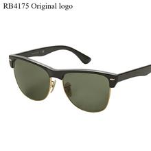 Logo RB4175 Wayfarer Sunglasses Half frame G15 lens men or women Brand designer glasses clubmaster Sunglasses With Original Logo(China (Mainland))