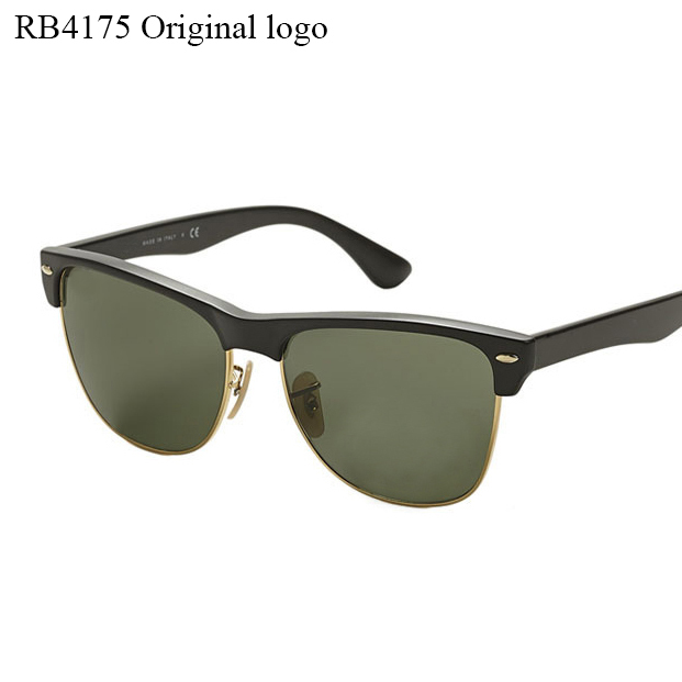 Logo RB4175 Wayfarer Sunglasses Half frame G15 lens men or women Brand designer glasses clubmaster Sunglasses With Original Logo(China (Mainland))