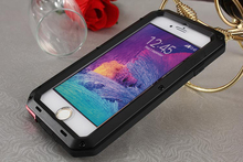 For IPhone 6/6s / 6 Plus defender case iphone6/6s love life weatherproof shockproof Dirtproof Alloy mei cover case + Touch ID