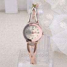 Best Selling ! Women Elegant Princess Ladies Quartz Analog Bracelet Wrist Watch with Rhinestones Decor for Women MHM526*5