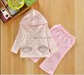 Лето мальчики одежда комплект Brithish флаг сша младенцы одежда комплект 3шт / комплект 2 t - рубашки + джинсы дети костюм