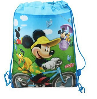 CM462 2015 new kids Mickey Minnie mouse backpack children's school bag,new cartoon backpacks bag mochila one piece for girl gift(China (Mainland))